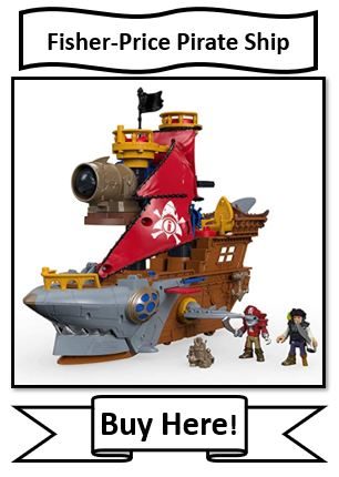 Fisher-Price Pirate Ship Toy - best toy gift ideas for 2021