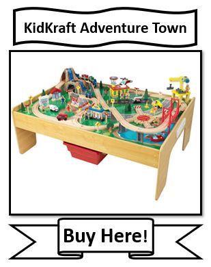 KidKraft Adventure Town Train Set