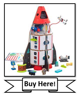 KidKraft Space Adventure Rocket