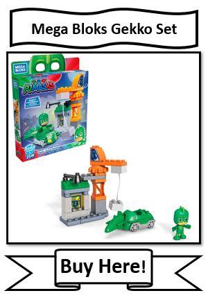 Mega Bloks PJ Masks Gekko Set