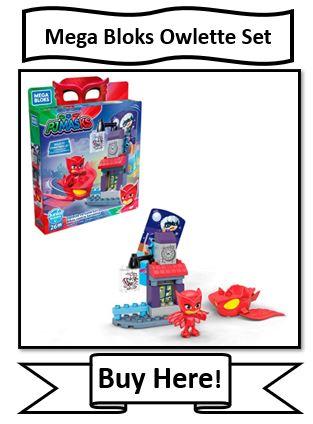 Mega Bloks Owlette Set
