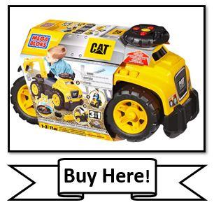Mega Bloks CAT Ride on Toy