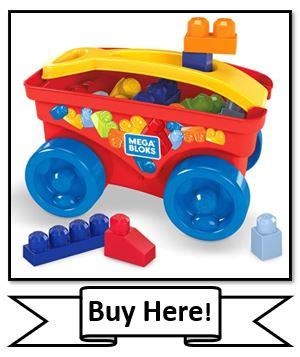 Mega Bloks Toy Wagon