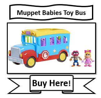 Muppet Babies Toy School Bus