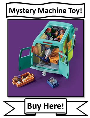 Playmobil Scooby Doo Mystery Machine Toy - best mystery machine toys