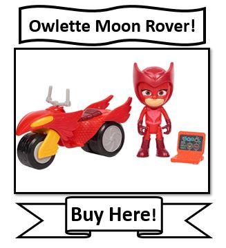 Owlette PJ Masks Moon Rover Toy