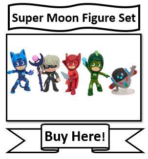 PJ Mask Super Moon Adventure Figure Set