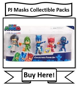 PJ Masks Collectible 5-figure Packs