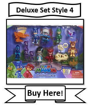PJ Masks Deluxe Figure Set Style 4