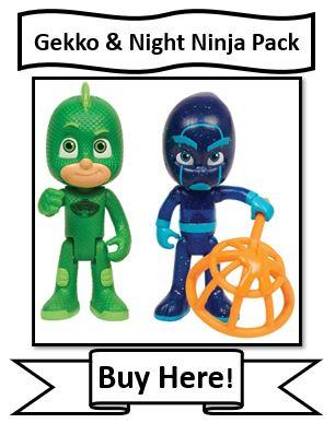 PJ Masks Gekko and Night Ninja Light Up Figures Reviewed
