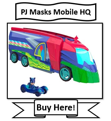 PJ Masks Headquarters vehicle mode