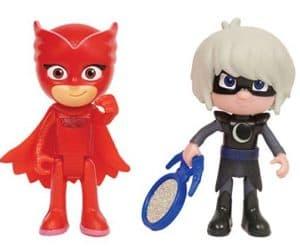 PJ Masks Light Up Luna Girl and Owlette Toy figures