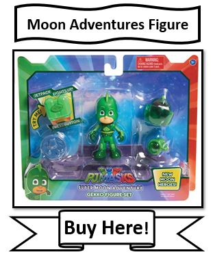 PJ Masks Moon Adventures Gekko