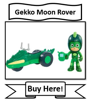 PJ Masks Moon Adventures Gekko Moon Rover Toy