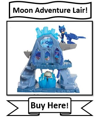 PJ Masks Moon Adventures Lair Playset