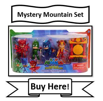 PJ Masks Mystery Mountain Figure Set