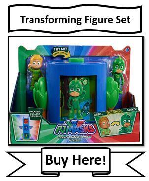 PJ Masks Transforming Figure Set Toy - Gekko - Reviewed