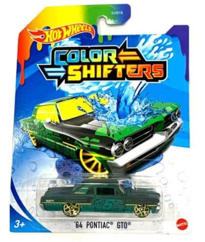 Hot Wheels Color Shifters 64 Pontiac GTO