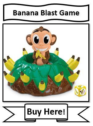 Banana Blast Board Game - Banana and Monkey Game for Kids