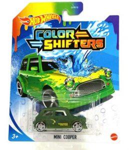 Hot Wheels Color Shifters Mini Cooper