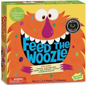 Feed the Woozle Board Game for Kids