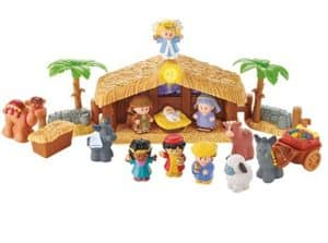 Fisher-Price Little People Christmas Story Toy