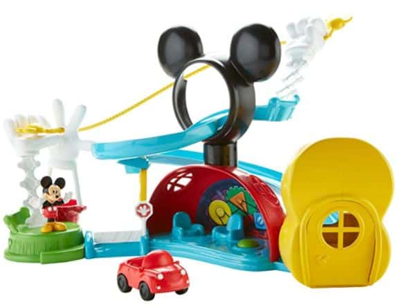 Fisher-Price Disney Mickey Mouse Clubhouse – Zip, Slide & Zoom Clubhouse Toy