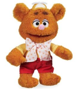 Fozzie Bear Muppet Babies Stuffed Animal