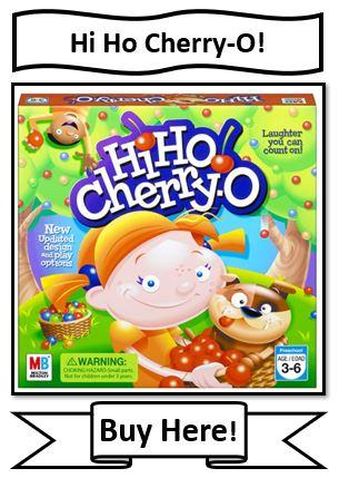 Hi-Ho Cherry O Board Game