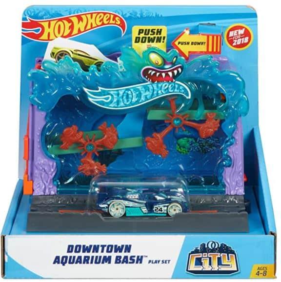 Hot Wheels City Downtown Aquarium Bash