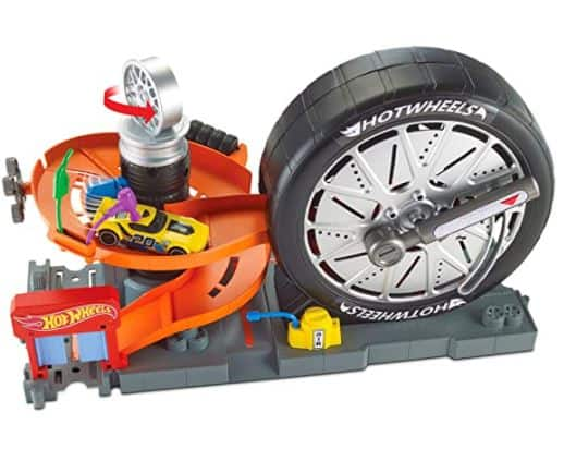 Hot Wheels City Super Spin Tire Shop