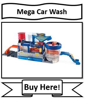 Hot Wheels Mega Car Wash