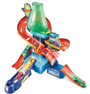 Hot Wheels Color Shifters Mad Scientist Escape Track