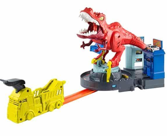 Hot Wheels T-Rex Attack Set