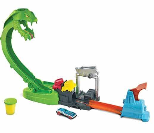Hot Wheels Toxic Snake Strike Challenge Set