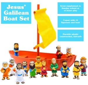 Galilee Boat 15 Piece Playset by BibleToys