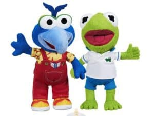 Kermit and Gonzo hand and Hand Muppet Babies Plush Stuffed Animal