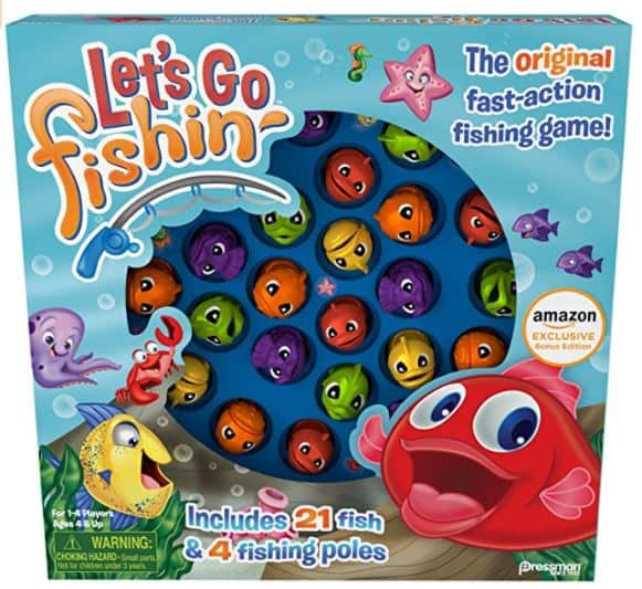 Let's Go Fishin' Game for kids