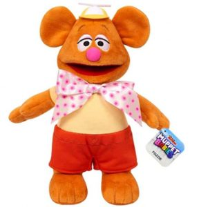 Muppet Babies 7-Inch Bean Plush Fozzie Bear Stuffed Animal