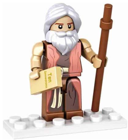 Christian LEGO Sets - Moses LEGO Figure