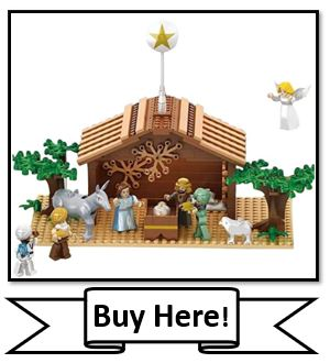 Christian Lego Set - Nativity Bricks Nativity Set