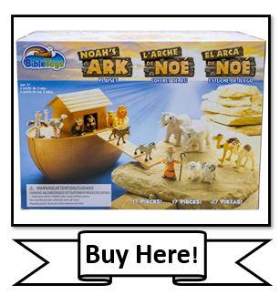 BibleToys Noah's Ark 17 Piece Playset with Noah - The Best Bible Toys List