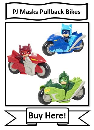 PJ Masks Pullback Motorcycles