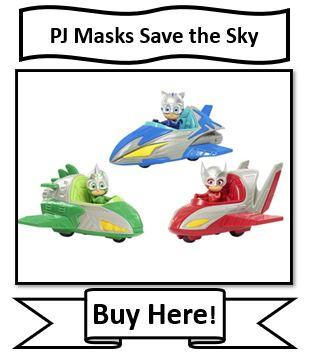 PJ Masks Save The Sky Vehicle Sets - Best PJ Masks Toys Reviewed