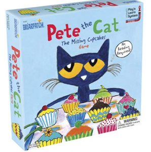 Pete the Cat Missing Cup Cakes Board Game