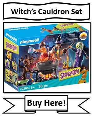 Playmobil Scooby-Doo Witch's Cauldron Toy
