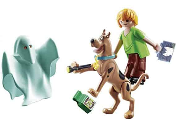 Playmobil Scooby-Doo Shaggy, Scooby, and Ghost Toy