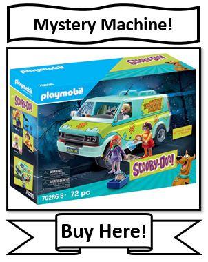 Playmobile Scooby-Doo Mystery Machine - best Playmobil Scooby Doo Toys