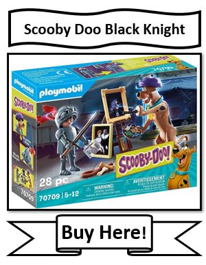 Playmobil Scooby-Doo Adventure with Black Knight Scooby Doo Toy