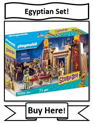 Scooby-Doo Egyptian Playset from Playmobil